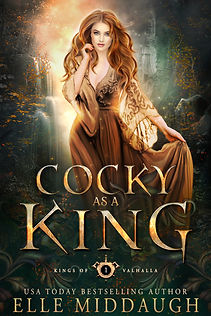Kings of Valhalla - 1 - Cocky as a King - Elle Middaugh - ebook.jpg