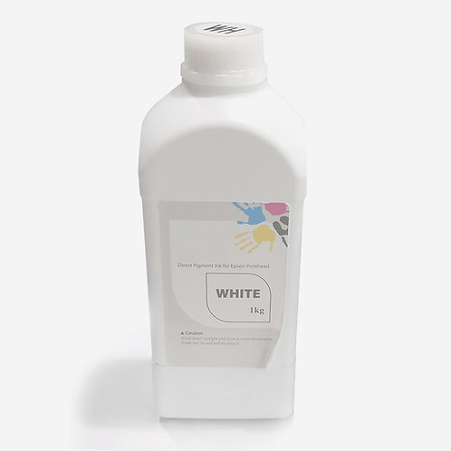 Discolor White DTG Ink Textile Ink
