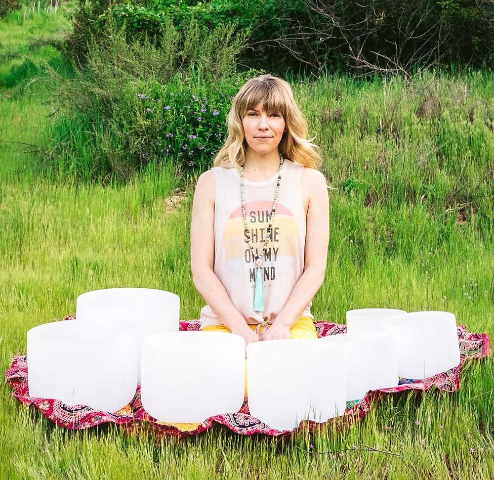 Sound Healer Kirstin Ford