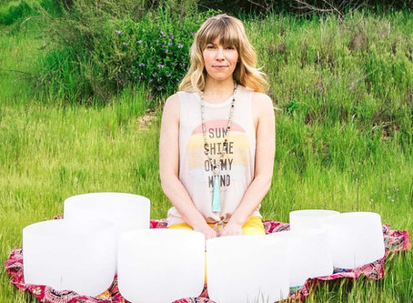 Class Spotlight- Harmony: Sound Healing with Crystal Singing Bowls