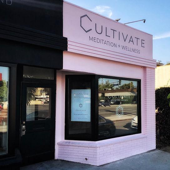 CULTIVATE Meditation studio Los Angeles exterior