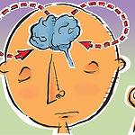 Meditation Effects on Brain Illustration