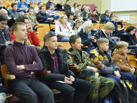 18 декабря 2018г. состоялось собрание родителей и детей юнармейского военно-спортивного лагеря «Парт