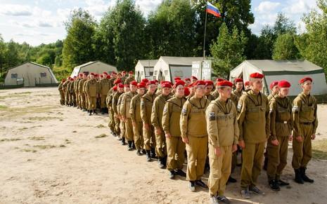 Продолжается бронирование мест на юнармейские военно-спортивные сборы «ПАРТИЗАН»