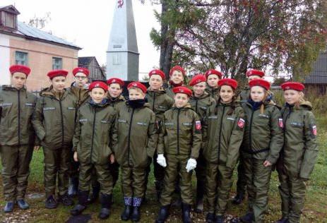 Воспитанники православных гимназий Нижегородской епархии приняли участие в «Юнармейском походе выход