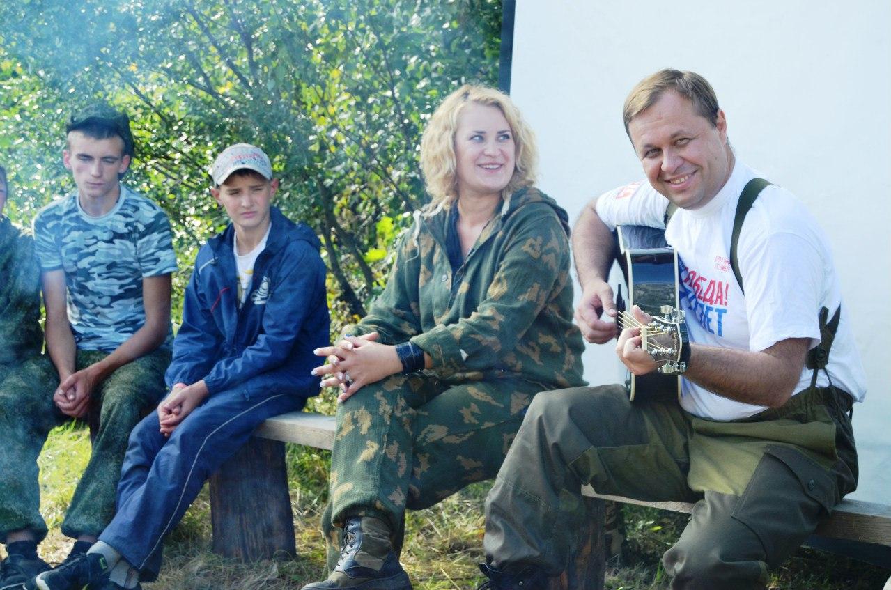 Военно-спортивный лагерь «Партизан»