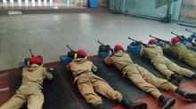 Соревнования по пулевой стрельбе. 25 метров.