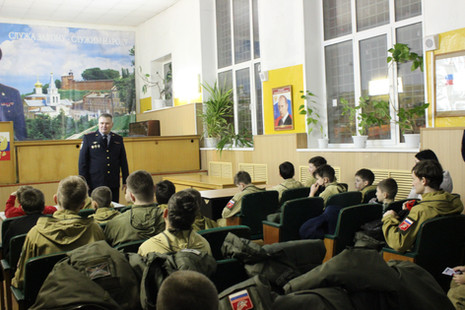 4-го февраля экскурсия в Полк ППС полиции Управления МВД России по г.Нижнему Новгороду.