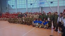 Городской Фестиваль юнармейских отрядов «Служить России суждено тебе и мне»