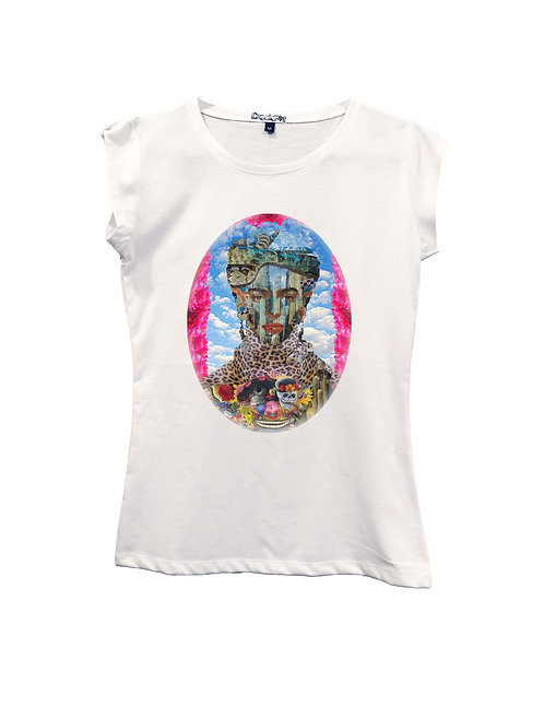 """FRIDA"" on Short sleeve t-shirt  - High quality cotton"