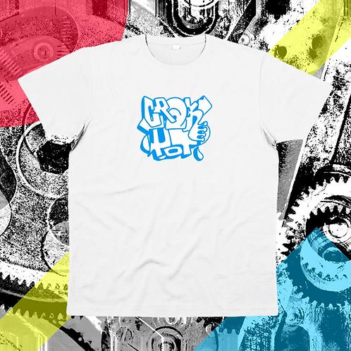 """Extra classic blue & white"" su t-shirt unisex"