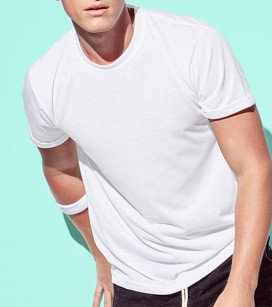 Man - 100% POLYESTER ACTIVE-DRY T-SHIRT