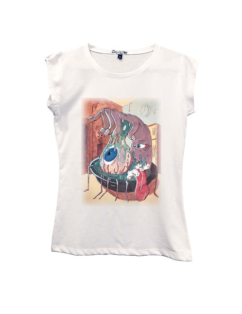 """""""MOSTRO IN CUCINA"""" on Short sleeve t-shirt  - High quality cotton"""