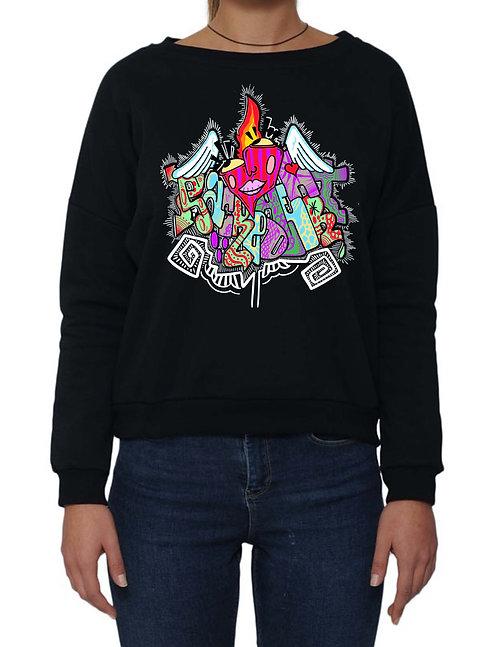 """""""SACRED HEART"""" on Dumbo Sweatshirt - High quality cotton"""