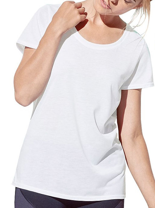 Woman - 100% POLYESTER ACTIVE-DRY T-SHIRT