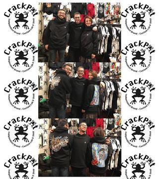 Felpe personalizzate - CrackPot Bologna