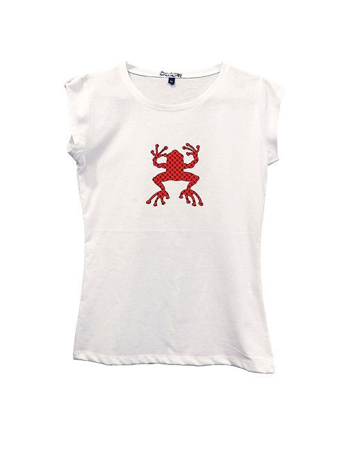 """RANA ROSSA RIPIENA AL PATTERN"" on Short sleeve t-shirt  - High quality cotton"