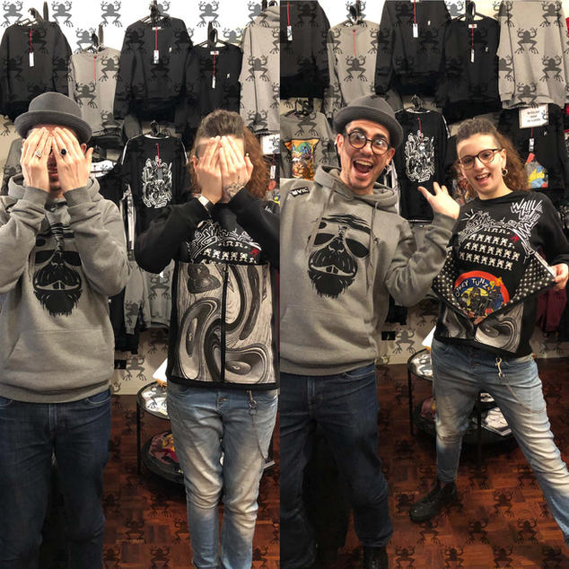 Abbigliamento personalizzato - Crackpot Bologna
