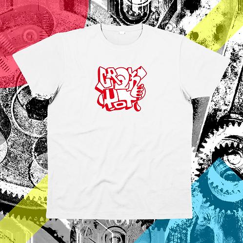 """Extra classic red & white"" su t-shirt unisex"