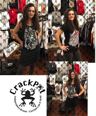 T-shirt con stampe originali - CrackPot Bologna