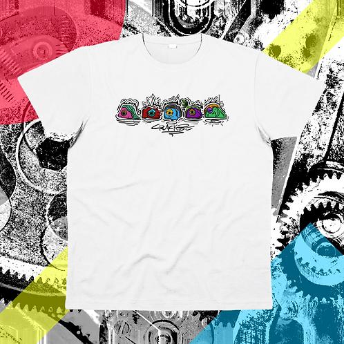 """Stoned Stones"" su t-shirt unisex - Cotone organico"