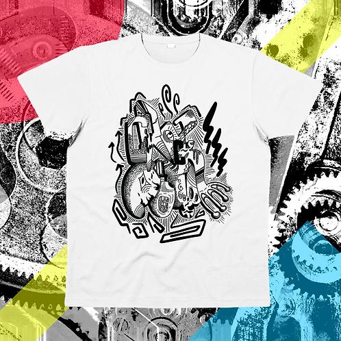 """CRACKPOT BOMB"" su t-shirt unisex"