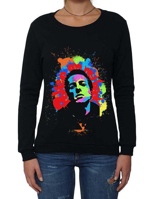"""JOE STRUMMER"" on Basic Sweatshirt - High quality cotton"