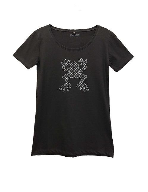 Rana ripiena al pattern - ROUND NECK - 100% HIGH Q.COTTON -Made in Italy