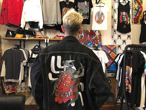 JAPAN DEVIL ON VINTAGE JACKET
