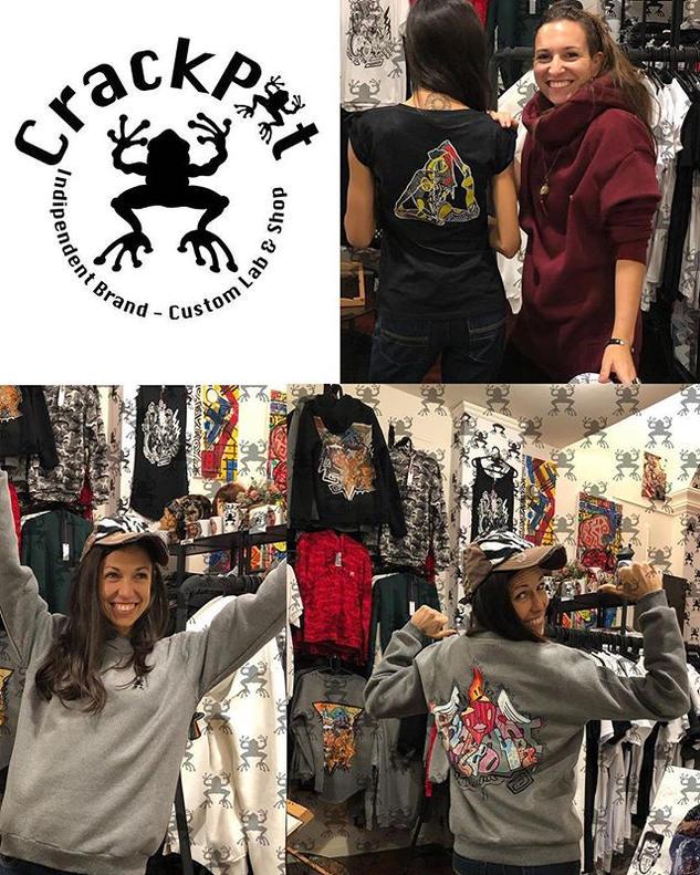 Magliette e felpe stampate - CrackPot Bologna