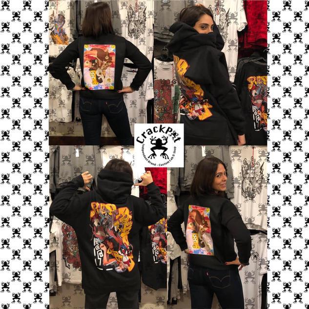 Printed sweatshirts and hoodies - CrackPot Bologna