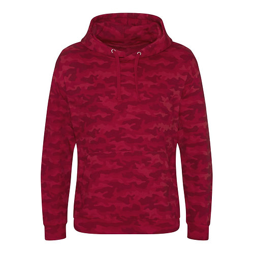 Unisex - RED CAMO HOODIE