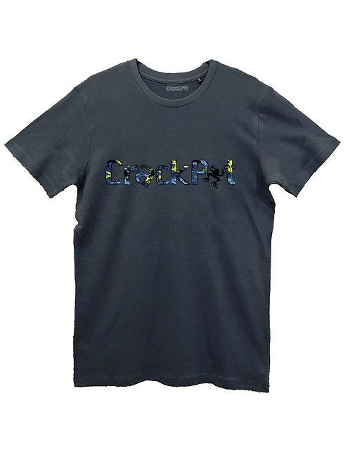 CRACKPOT CAMO BLUE on CABAS grey