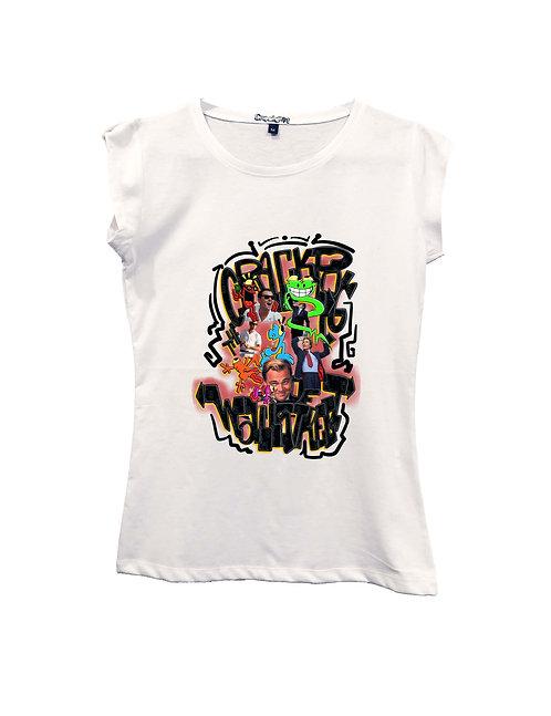 """CRACKPOT OF WALL STREET"" on Short sleeve t-shirt  - High quality cotton"