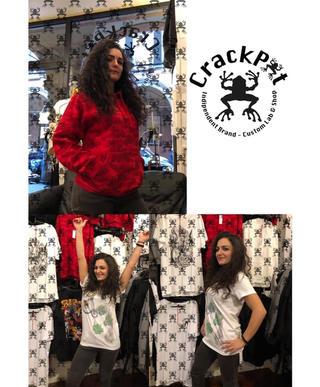 Magliette e felpe originali - CrackPot Bologna