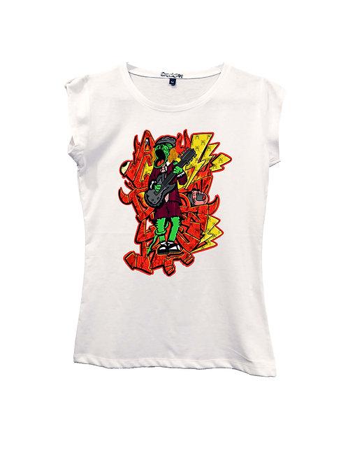"""ACDCrackPot"" on Short sleeve t-shirt  - High quality cotton"