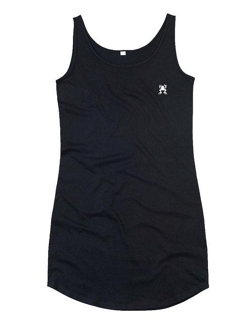 Logo rana - CURVED VEST DRESS 100% COTTON