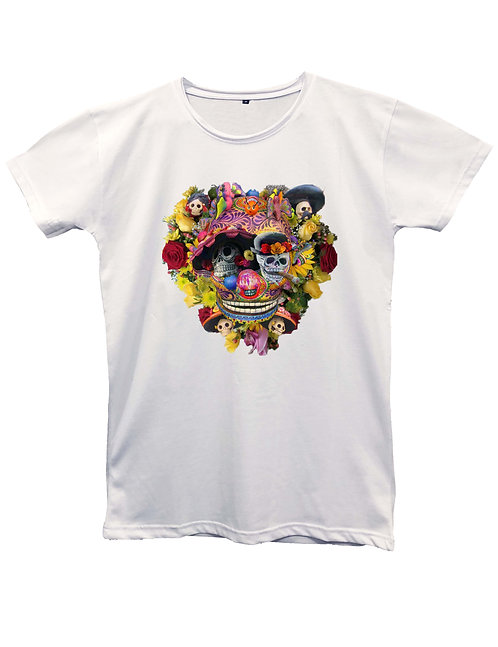 """""""CALAVERA"""" on MII60 white and black - Made in Italy"""