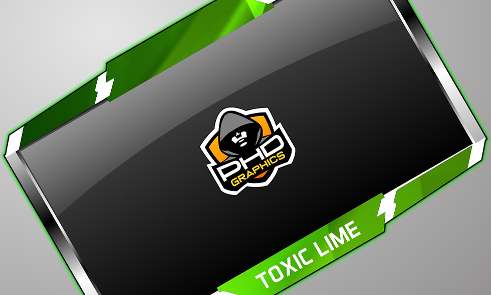 Toxic Lime Cam-Frame