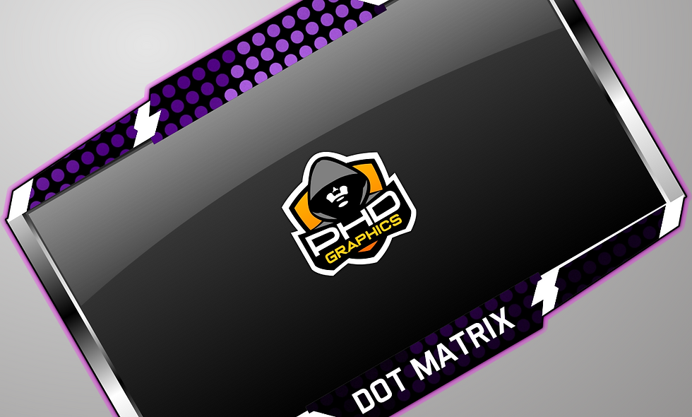 DotMatrix Cam-frame