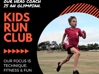 Kids Run Club / Term One 2020