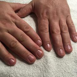 Men get manicures to!_#yegmanicure #relaxing #workinghands #shop124street