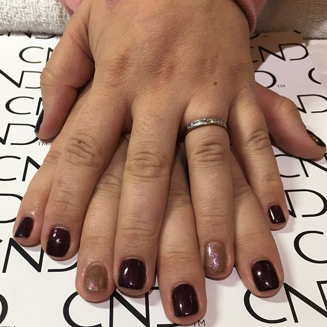 New nail day for _victorialeigh_f CND Sh