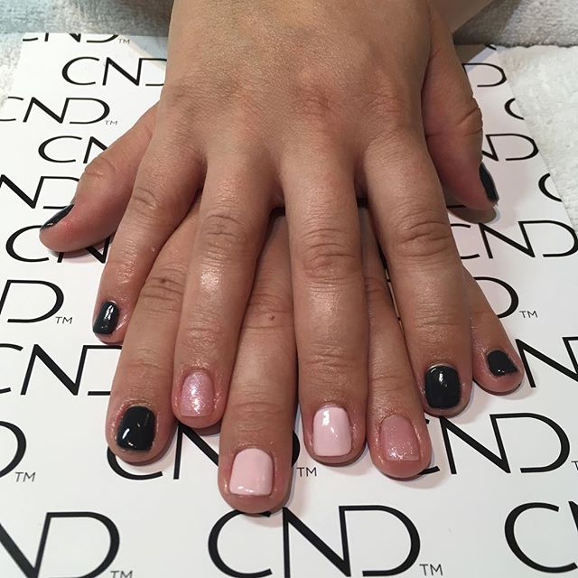 Fresh new shellac manicure tried out a f