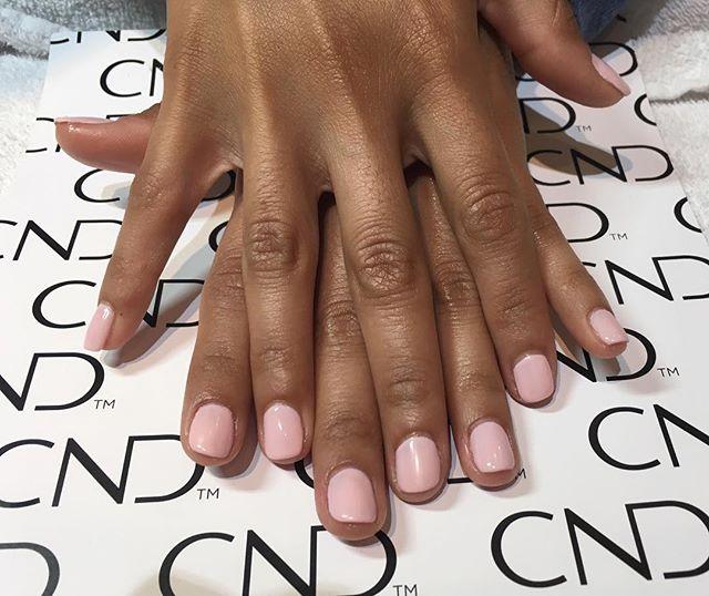 Another beautiful shellac manicure