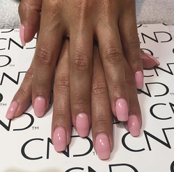 Love doing this girls natural nails! Gel