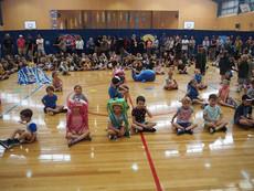 Grades D6 & D8 Present An Underwater Junior Assembly!