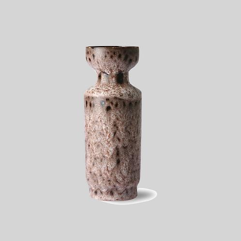 Retro Ceramic Vase - Lava Brown
