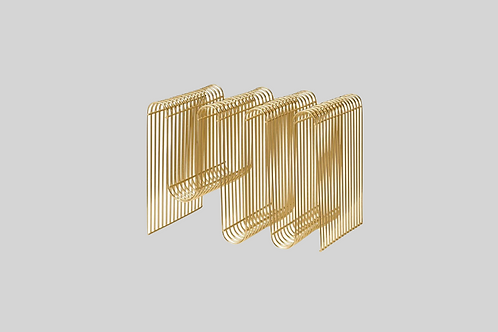 Curva Magazineholder - Guld