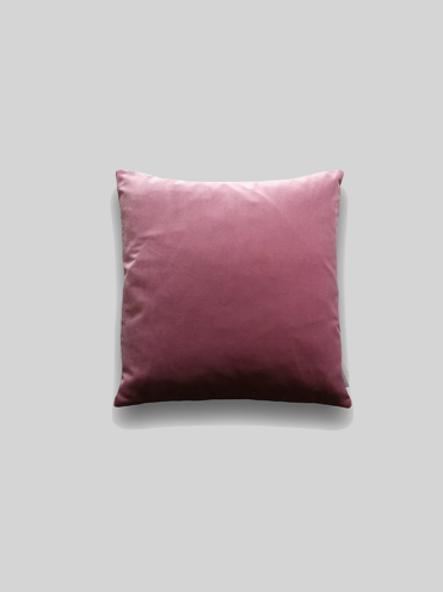 Velvet Cushion - Rose Raspberry